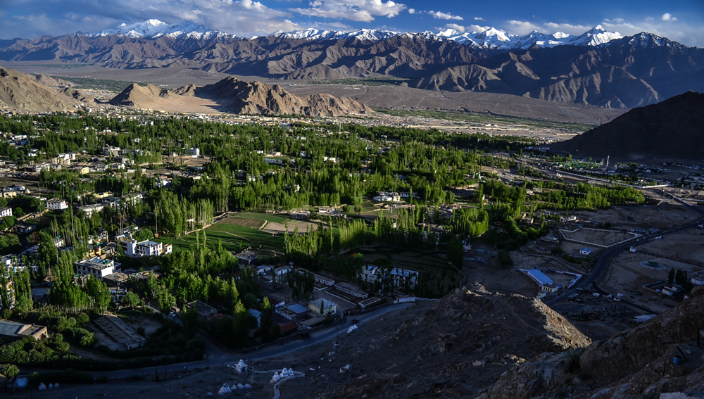 Leh in the evening