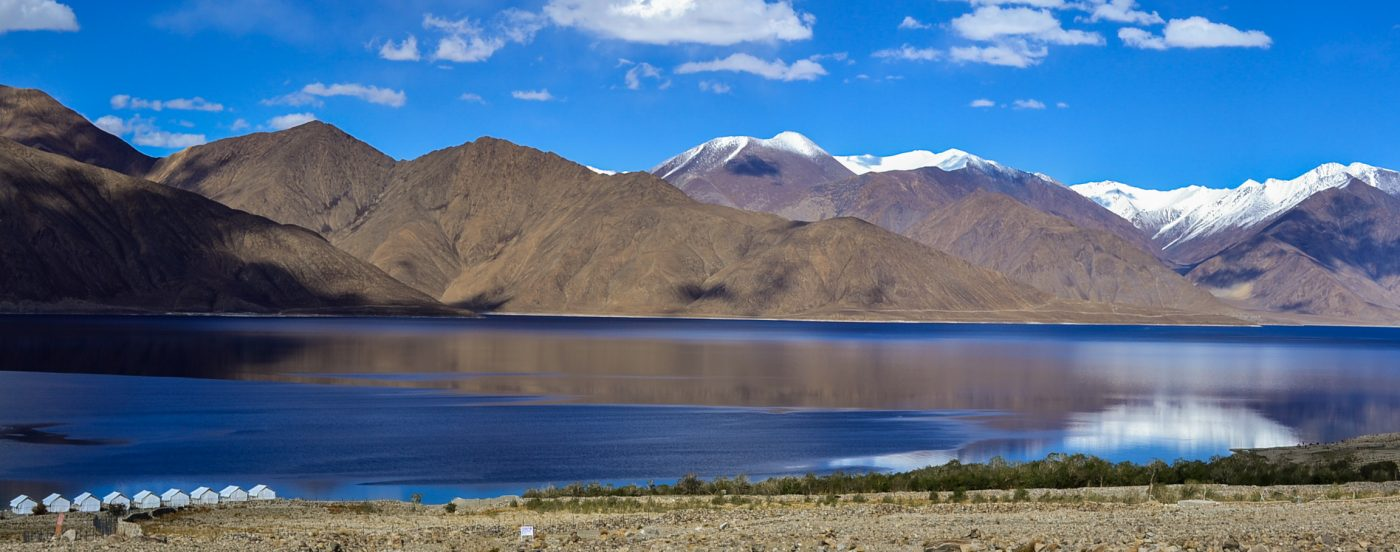 Reflections at Pangong Tso