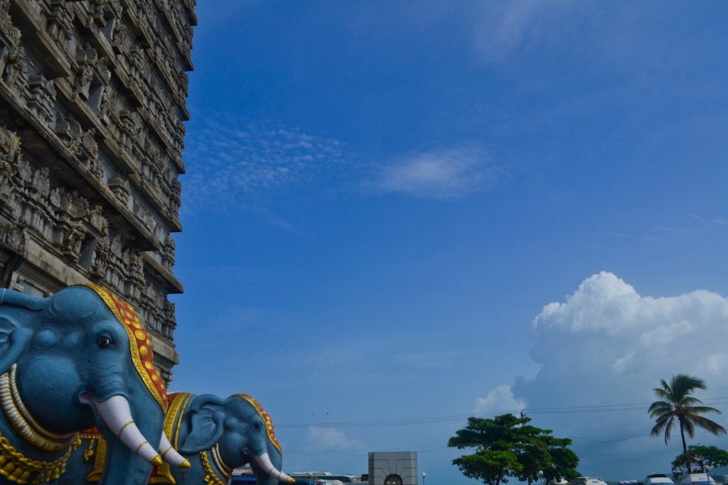 Murdeshwar on the Karnataka coast
