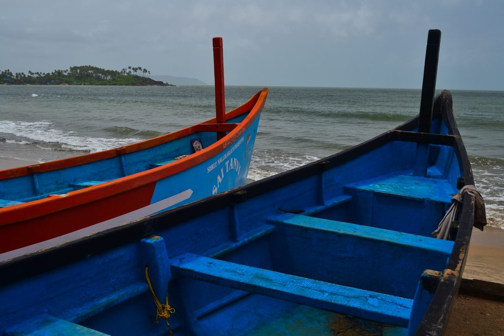 Fishing boats in Goa