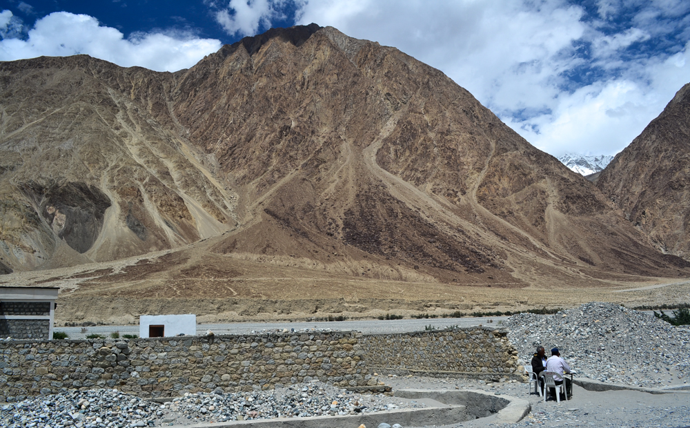 Home to the snow leopard enroute Nubra