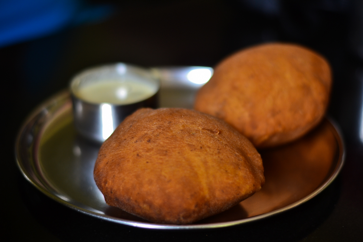 Mangalore bun at Mita Samaj