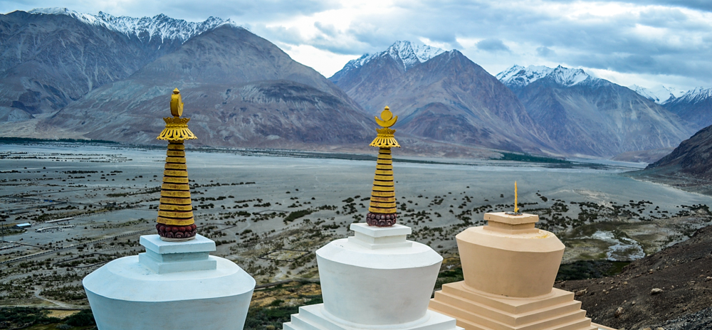The picturesque Nubra valley