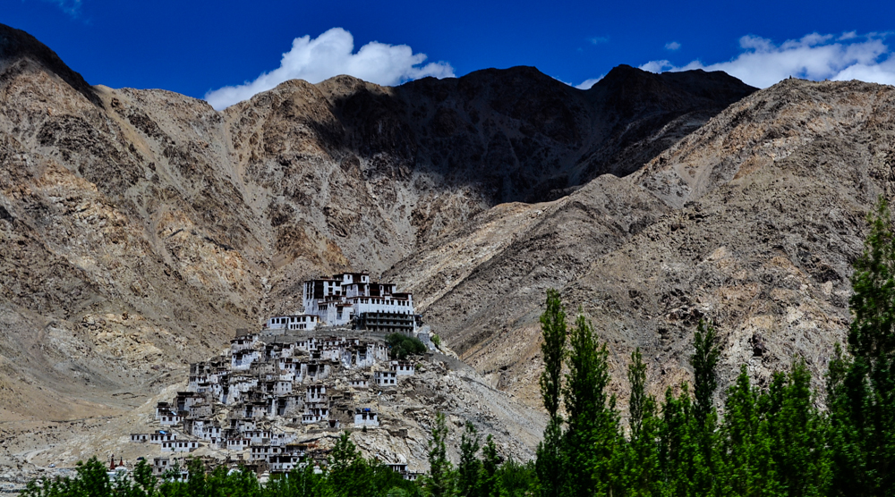 Chemrey Monastery in Ladakh enroute the Leh-Chang La road