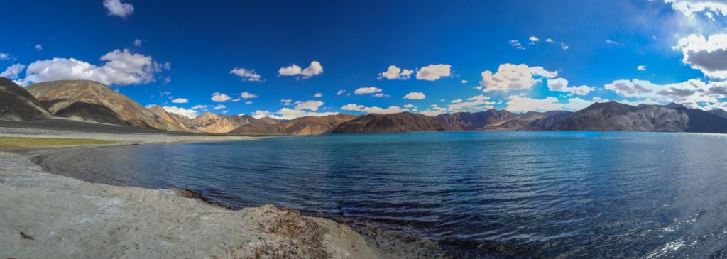 The origins of the Pangong Tso