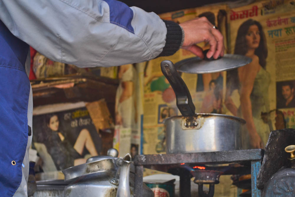 A hot tea in Dharamsala