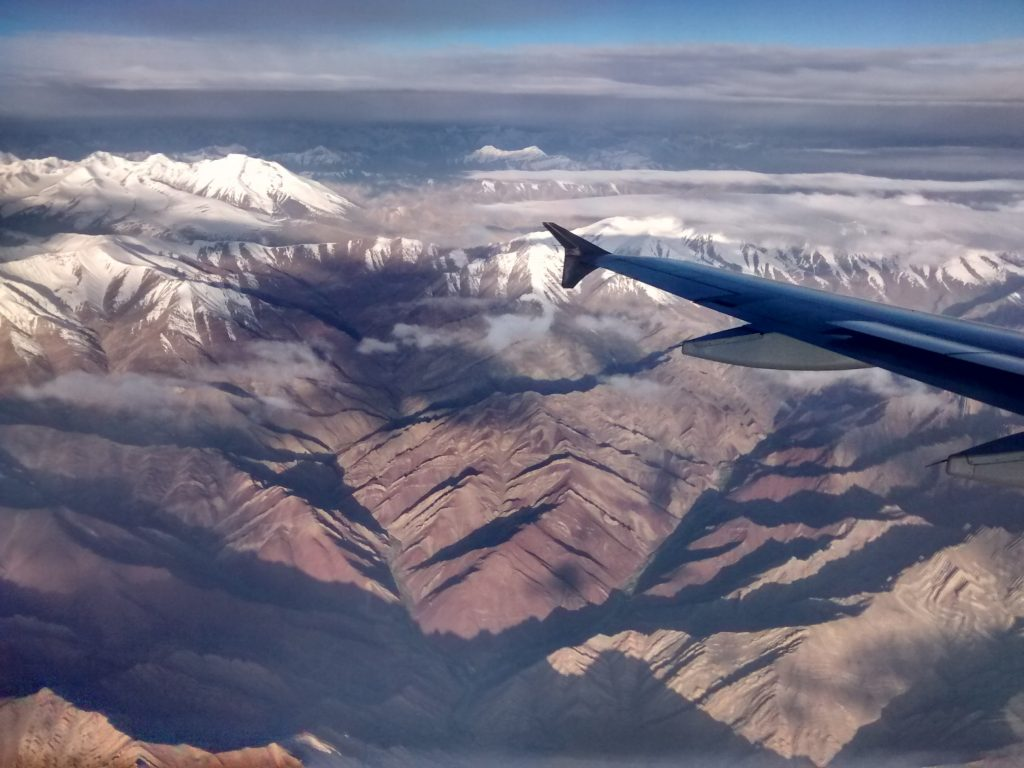 Flight over Leh