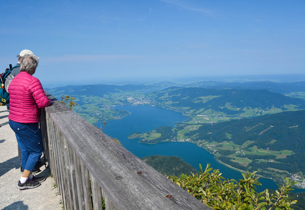 Schafberg panoramic view
