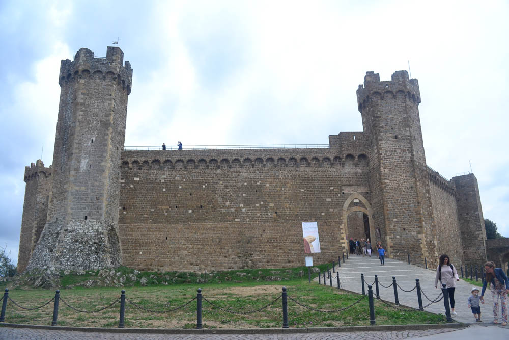The fortress at Montalcino